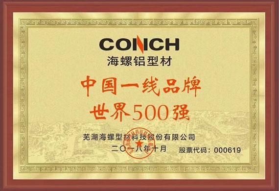 中国一线品牌 世界500强